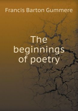 The beginnings of poetry