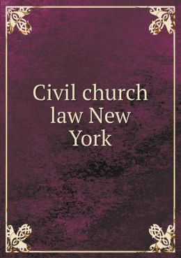 Civil church law New York