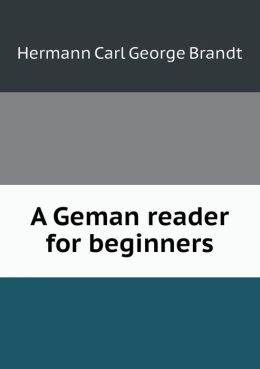 A Geman reader for beginners