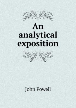 An analytical exposition