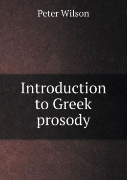Introduction to Greek prosody
