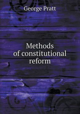 Methods of constitutional reform