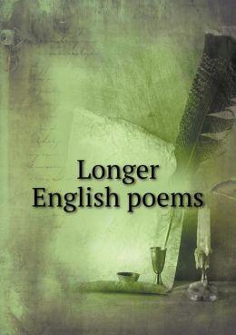 Longer English poems