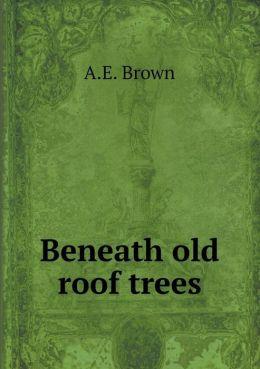 Beneath old roof trees