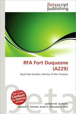 RFA Fort Duquesne (A229)