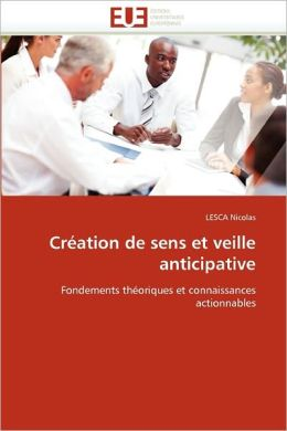 Cr Ation De Sens Et Veille Anticipative