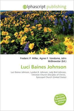 Luci Baines Johnson
