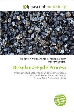 Birkeland-Eyde Process