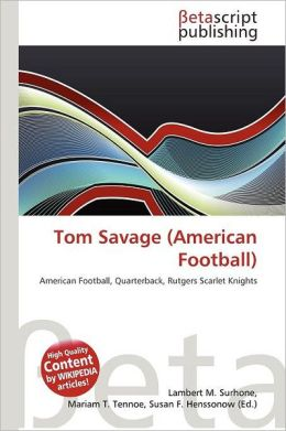 Tom Savage (American Football)
