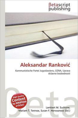 Aleksandar Rankovi