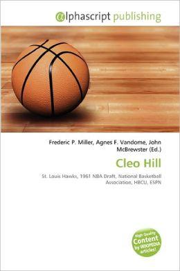 Cleo Hill
