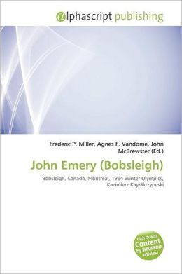John Emery (Bobsleigh)