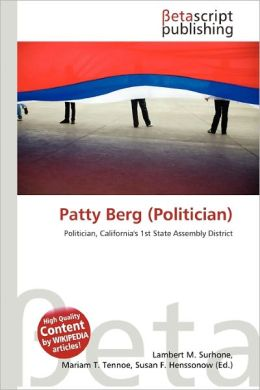 Patty Berg (Politician)