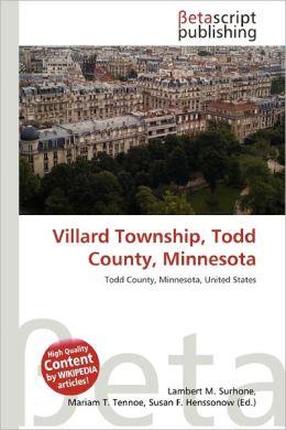 Villard Township, Todd County, Minnesota by Lambert M. Surhonevillard township