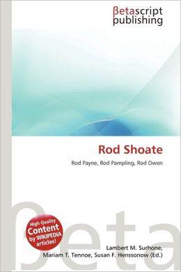 Rod Shoate