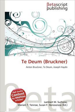 Te Deum (Bruckner)