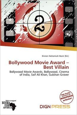 Bollywood Movie Award - Best Villain
