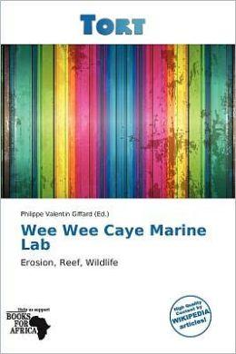 Wee Wee Caye Marine Lab