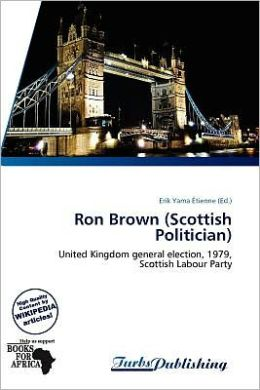 Ron Brown (Scottish Politician)