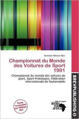Championnat Du Monde Des Voitures De Sport 1991