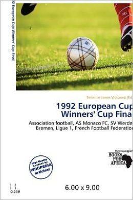 1992 European Cup Winners' Cup Final