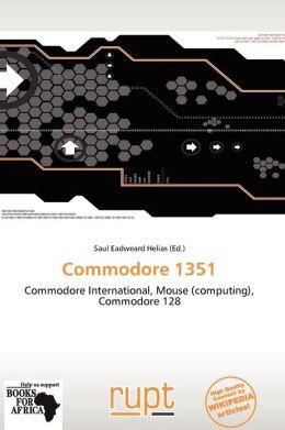 Commodore 1351
