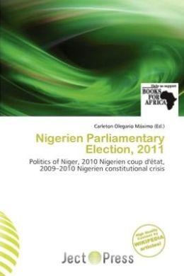 Nigerien Parliamentary Election, 2011