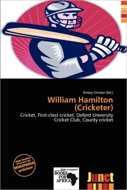 William Hamilton (Cricketer)