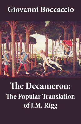 The Decameron: The Popular Translation of J.M. Rigg