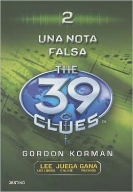 Una nota falsa (One False Note: The 39 Clues Series #2)