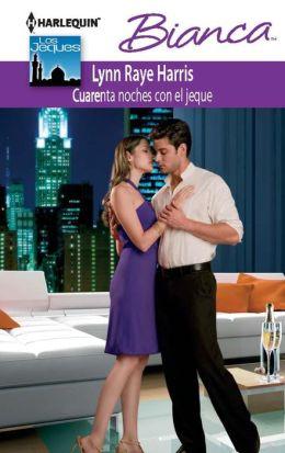 Cuarenta noches con el jeque (Marriage Behind the Facade) (Harlequin Bianca Series #878)