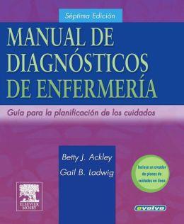 Manual de Diagnosticos de Enfermeria: Guia Para Planificar los Cuidados