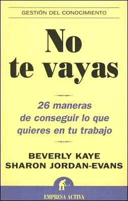 No te Vayas (Love it, Don't Leave it)