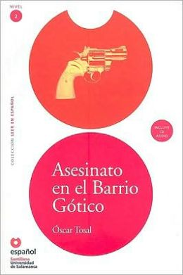 Asesinato en el barrio gótico (Libro + CD)