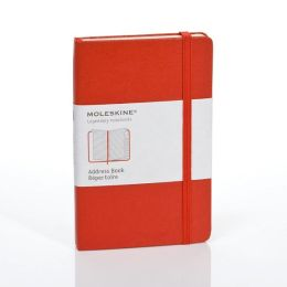 Moleskine Classic Red Pocket Address Book
