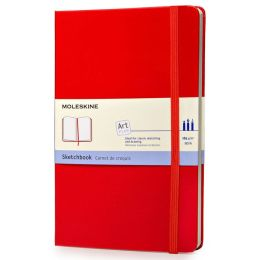 Moleskine Classic Red Large Sketchbook