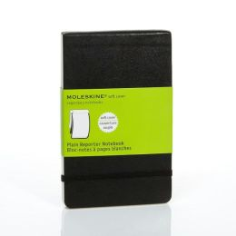 Moleskine Classic Soft Cover Pocket Plain Reporter Notebook