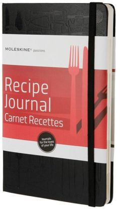 Moleskine Passion Journal - Recipe, Large, Hard Cover (5 x 8.25)