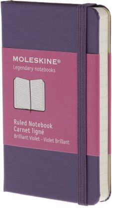 Moleskine Classic Brilliant Violet Extra Small Ruled Notebook