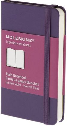 Moleskine Classic Brilliant Violet Extra Small Plain Notebook