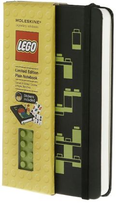 Moleskine Limited Edition Lego Yellow Brick Pocket Plain 5.5x3.5