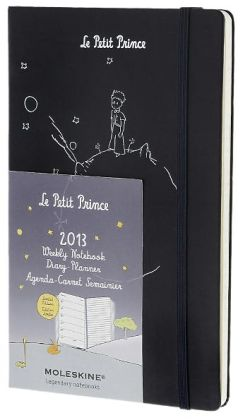 2013 Limited Edition Planner - Le Petit Prince - Weekly - Large Prussian Blue Hard Cover