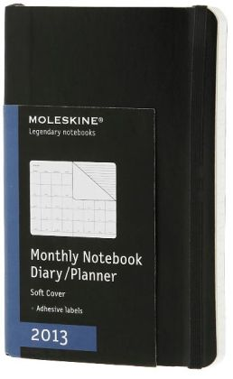 2013 Monthly Notebook - Pocket