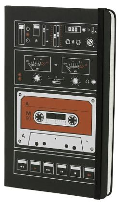Moleskine Limited Edition Audio Cassette Large Ruled 5x8.25
