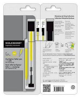 Moleskine Fluorescent Roller Pen Yellow