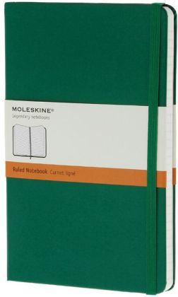 Moleskine Classic Large Ruled Oxide Green Notebook