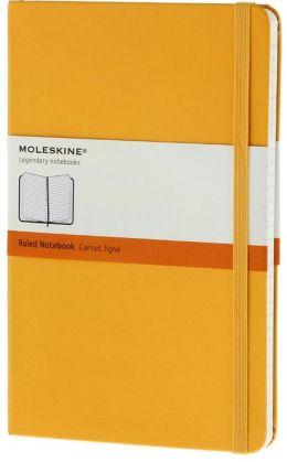Moleskine Classic Large Ruled Yellow Notebook
