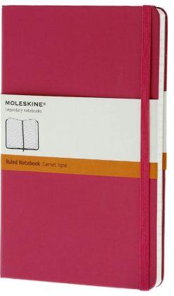 Moleskine Classic Large Ruled Magenta Notebook