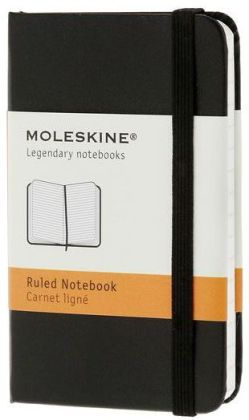 Moleskine Classic Black Extra Small Ruled Notebook
