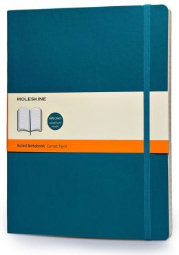 Moleskine Classic Soft Underwater Blue Extra Large Ruled Notebook